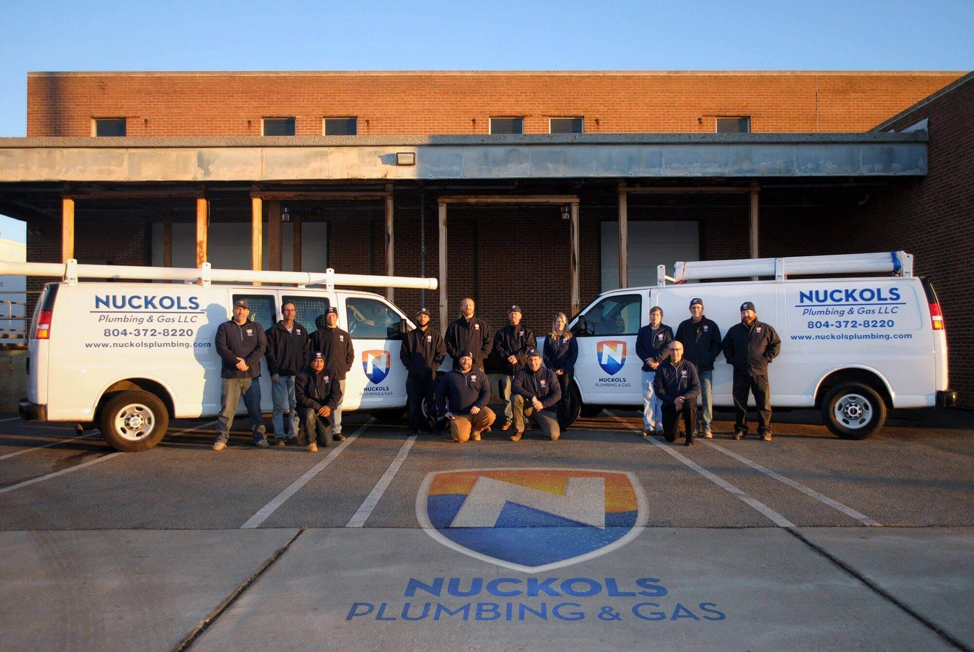 Nuckols Plumbing & Gas Team Photo